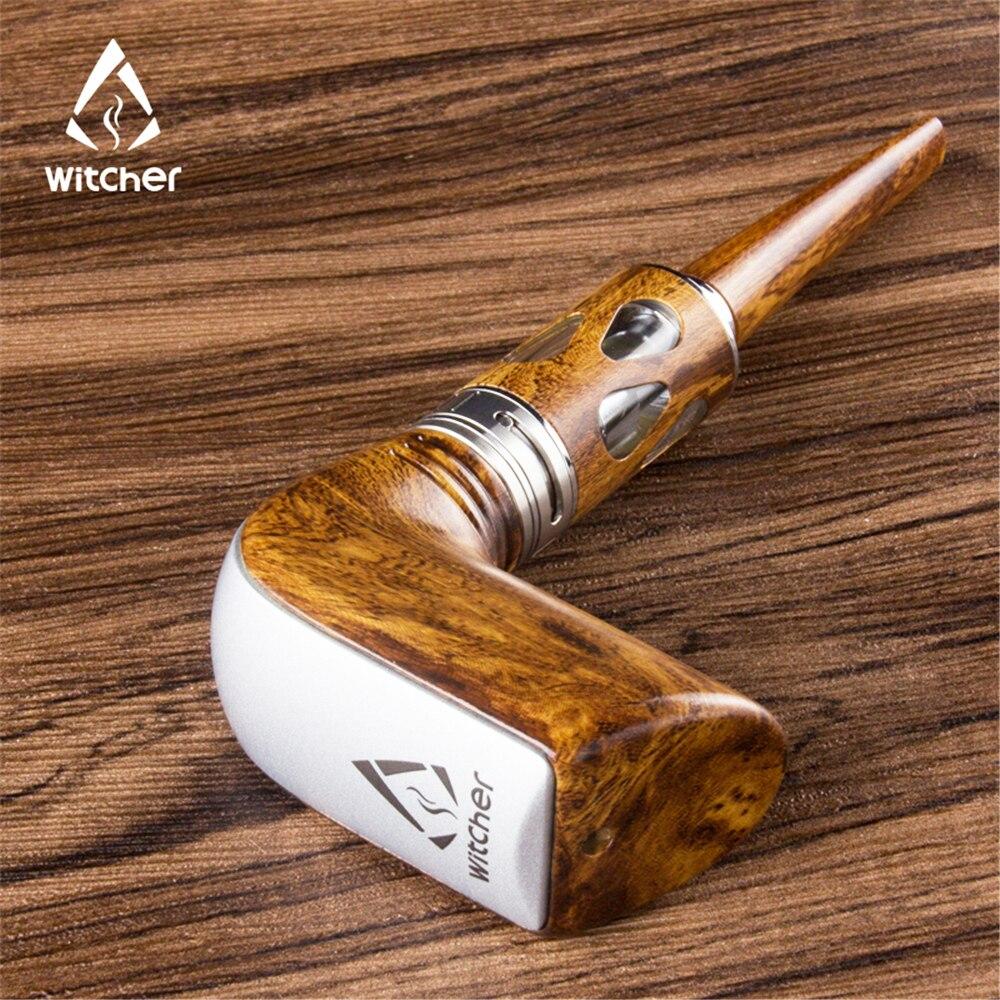 Kamry K1000 Plus Electronic Cigarette Kit 1000mAh E-Pipe kit Wooden Design E pipe Smoking Hookah Pen Wooden Electronic Hookah
