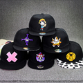 new Japanese Anime One Piece Baseball Cap Cartoon Hip Hop Hat Luffy Snapback Caps For Men Women Adjustable Embroidery Sunhat