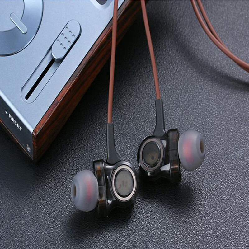 In Ear HIFI Earphone Super Clear Noise Isolating Earbud For Mobile Phone For Xiaomi PC MP3