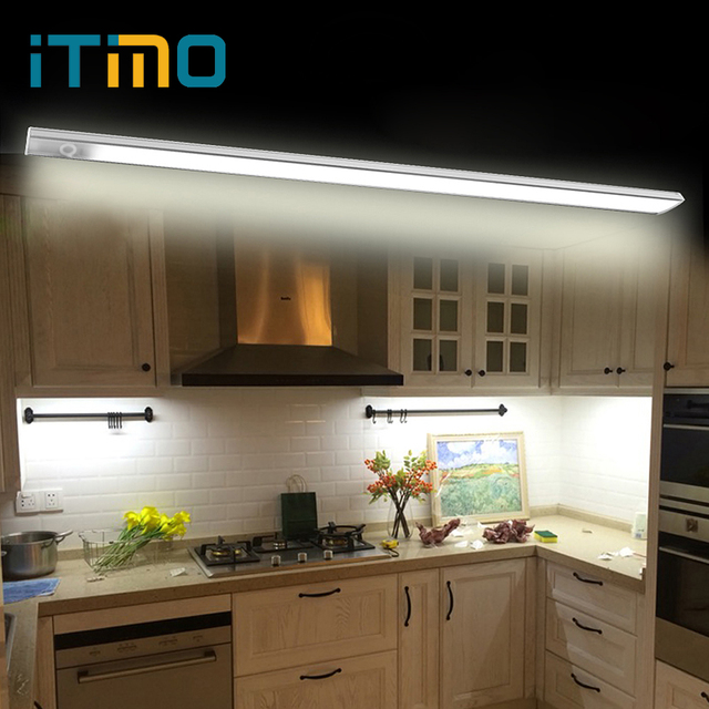 ITimo Touch Sensor LED Bar Light Cabinet Light LED Lighting Aluminium  Profile LED 36LED Kitchen Lights