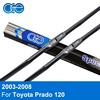 Oge Windshield Wiper Blades For Toyota Prado 120 2003 2008 Pair 22 21 Silicone Rubber Windscreen