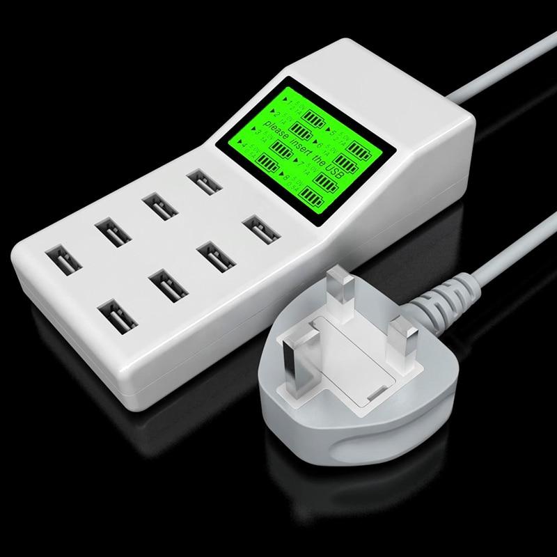 Leebote 8 Ports USB Charger 40W Multi Port USB Power Adapter - Ανταλλακτικά και αξεσουάρ κινητών τηλεφώνων - Φωτογραφία 4