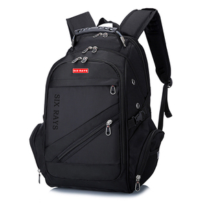 """Image 2 - Brand Swiss Laptop 15""""Backpack External USB Charge Swiss Computer Backpacks Anti theft Backpack Waterproof Bags for Men Women"""