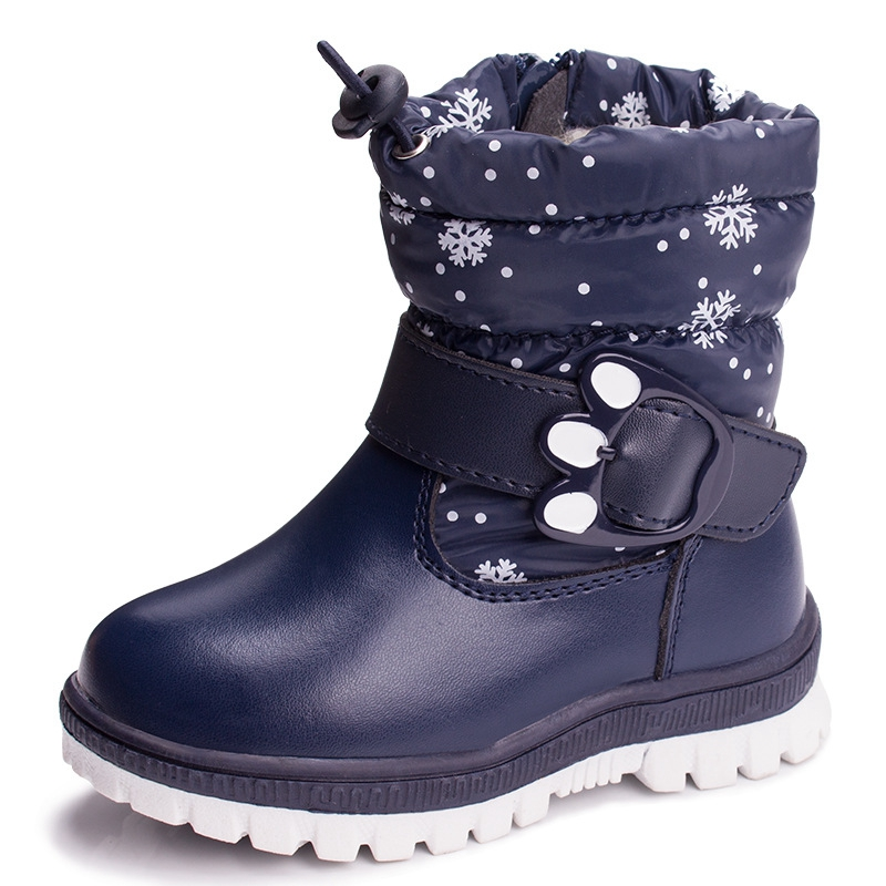 Childrens shoes in the bottom of cotton boots autumn winter thickening warm snow boots waterproof men and women shoes