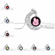 BTS BT21 Moon Necklaces (8 Models)