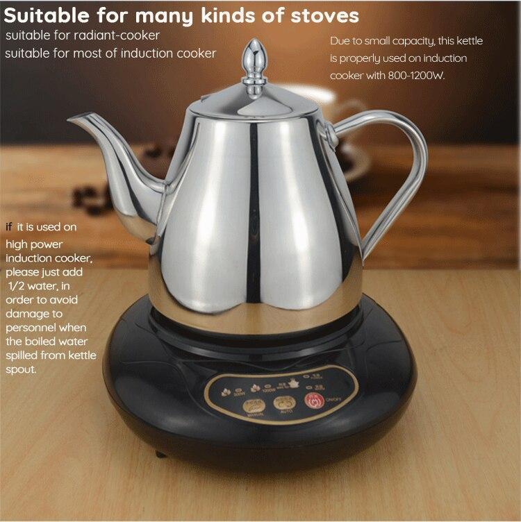 pote de água adequado gotejamento chaleira de café itens de cozinha