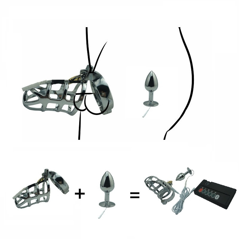 Steel Butt Plug Set