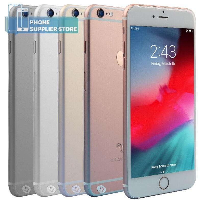 Apple iPhone 6 s Plus Desbloqueado Smartphone 5.5 de polegada Maçã A9 Dual Core 16 GB/64 GB/128 GB ROM 12MP Câmera IOS Telefones de Impressões Digitais