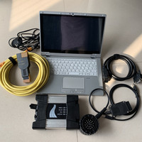 for bmw diagnosis icom next software 2019 latest 480gb ssd cf AX2 laptop i5 8g used TOUCH SCREEN 360 degree rotation cables full