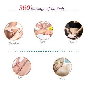 Image 3 - U şekli boyun masaj ağrı boyun ve omuz çok fonksiyonlu dokunarak masaj taşınabilir elektrikli topları servikal masaj şal