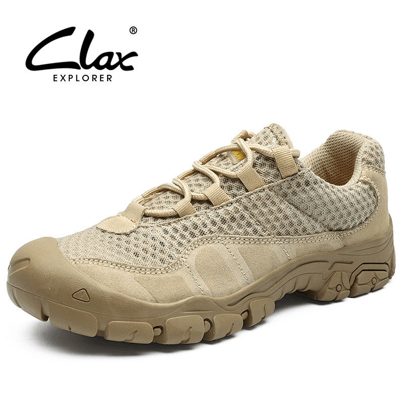 CLAX Mens Casual Shoes Breathable 2019 Summer Male Mesh Shoe Fashion Man s Shoe Sneakers Walking