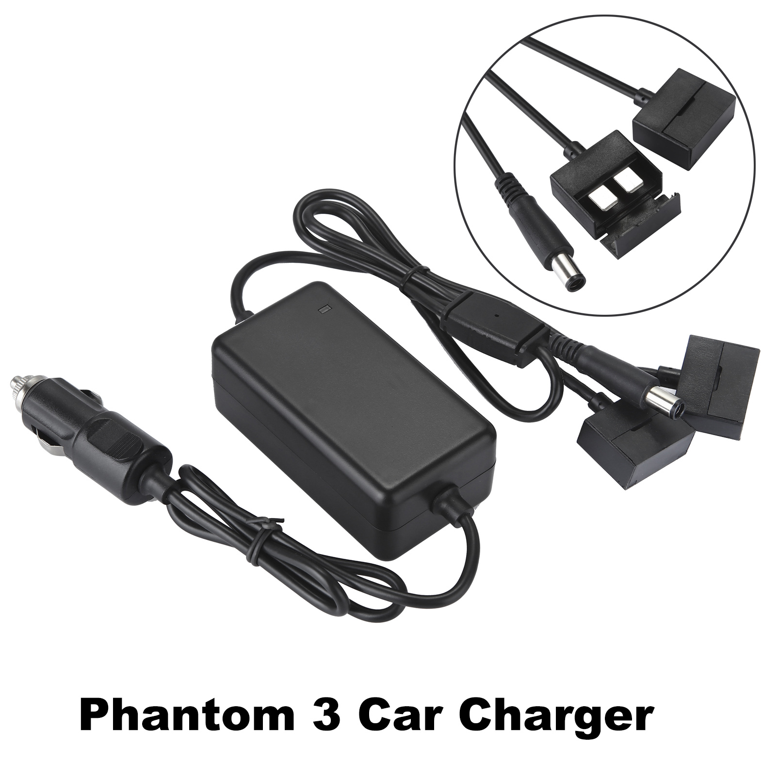 цена Phantom 3 Car Charger Battery 3A 3P Remote Controller Smart Charging for DJI Phantom 3 Camera Drone Outdoor Vehicle Charger