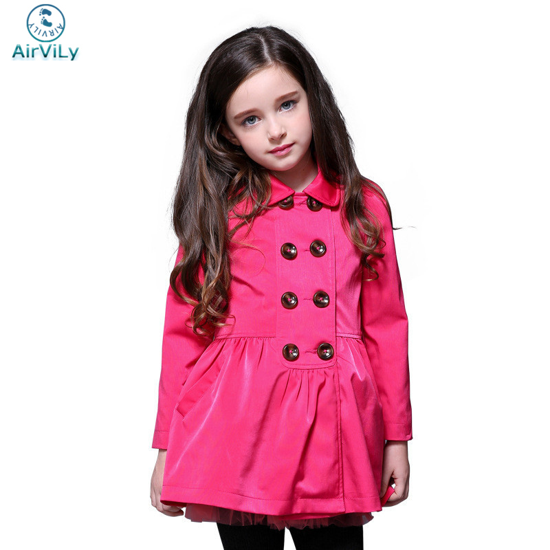 ФОТО high quality jackets for girls 2017 new autumn outwear jacket children