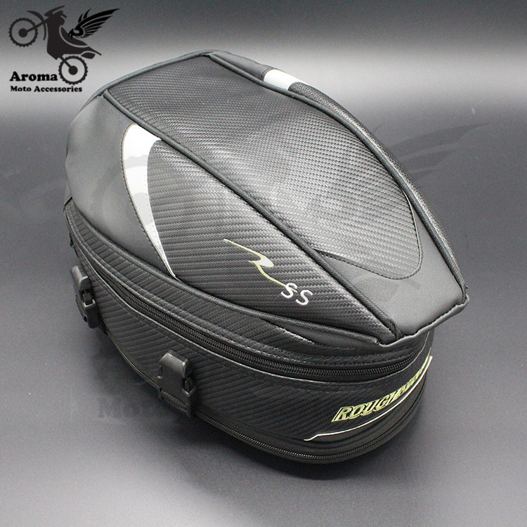 все цены на waterproof moto Saddle Bags pit bike part motocross saddlebag motocross seat pouch motorbike helmet luggage motorcycle tail bag