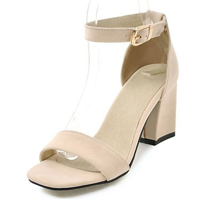 Girseaby sexy pumps for women high heels open toe flock thin heels bridal party shoes pumps plus size QL1184