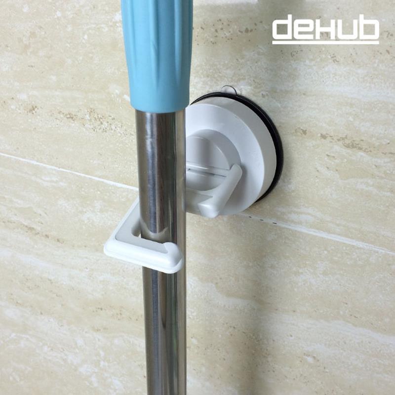 DEHUB Brand Powerful Vacuum Suction Hooks Broom Mop Hanger Hook Waterproof  Kitchen Bathroom Door Wall Sucker Hooks Mop Holder In Bathroom Hooks From  Home ...