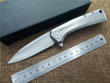 Knife D2 blade model 0808 Outdoor folding knife EDC ball bearing pocket flipper camping knife knives
