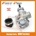 Бесплатная Доставка Mikuni Высокая Производительность PZ28 28 мм Карбюратор VM24 Карбюратор Для 160cc 200cc 250cc Мотокросс Мотоцикл Байк