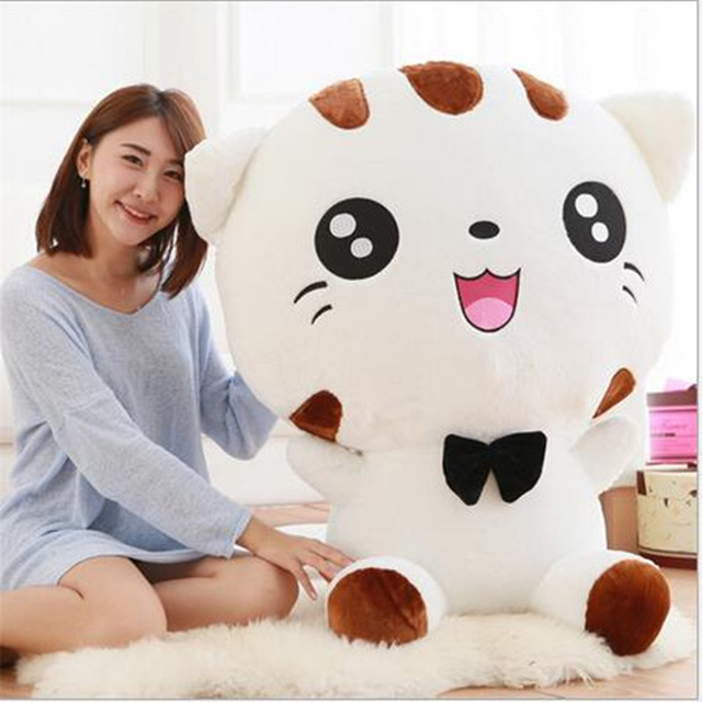 Ao Lunxi 28cm plush doll Cute totoro plush Happy Face Big Cat Plush Doll Doll Creative Gift Free Shipping Children girls