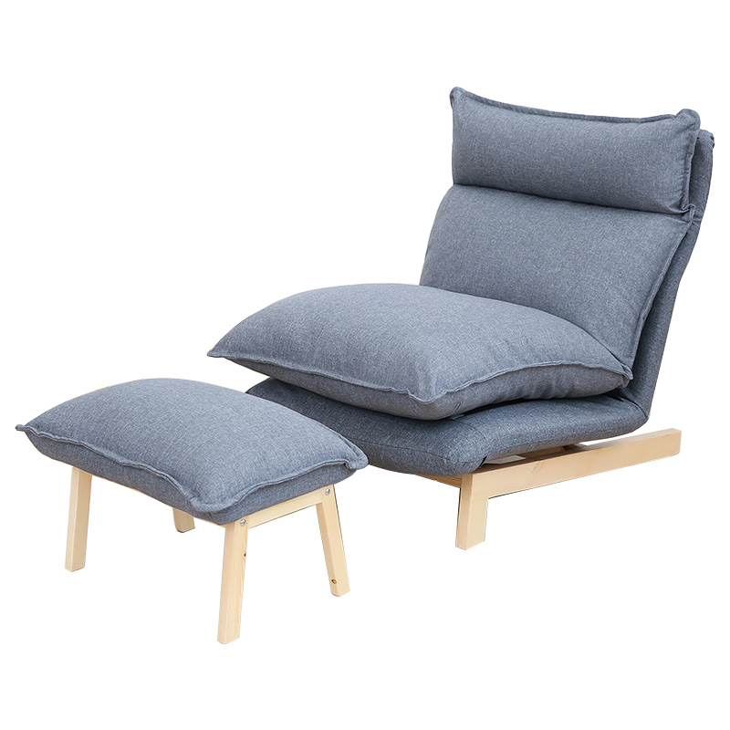Contemporary folding lazy sofa chair japanese style for Contemporary lounge chairs living room