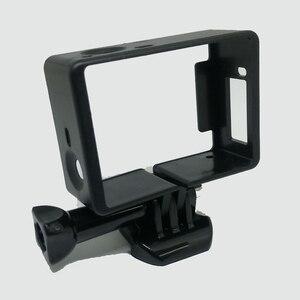 Image 4 - Standard di protezione Telaio per gli Accessori Go Pro Custodia Border + Tripod Mount Adapter + Vite per GoPro Hero 4 3 3 +