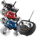 Новый Стиль Гром Стакан Удаленного Управления По Радио Ралли 360 Одной шины Спиннинг Автомобиль Дрейф Трюк Свет Автомобилей Подарок для Детей