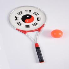 1 ракетки мяч Тай Чи комплект китайское кунг-фу китайский ушу боевые искусства Taiji Rouli мяч спортивные