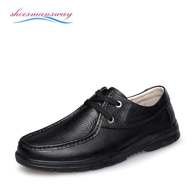 Size 38 To 46 Most Comfortable Mens Dress Shoes Brown Italian Style