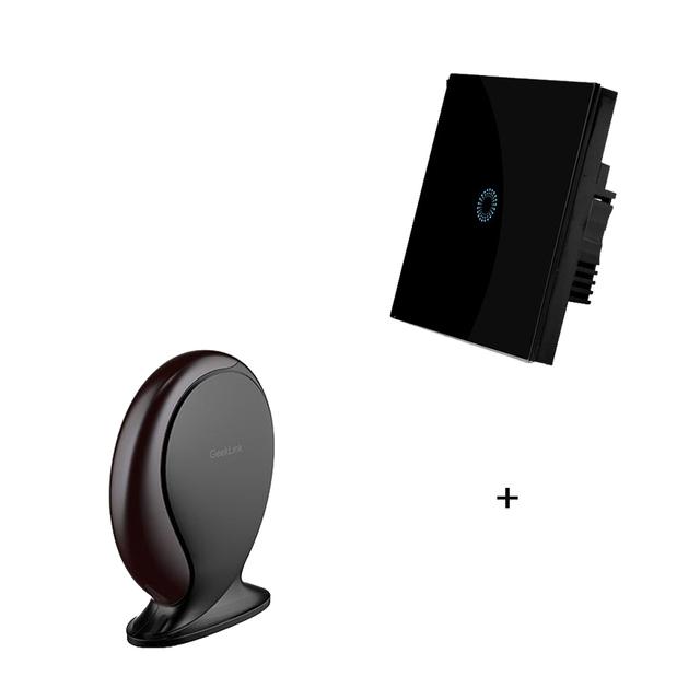 HomeThinker e Interruptor inteligente, automático,, anfitrião de controle remoto sem fio para iphone 6 ios android, router wifi + + ir + rf