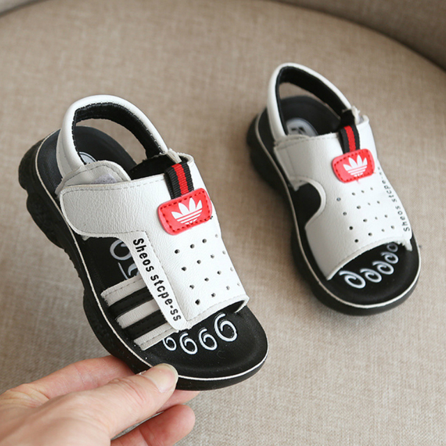 Boys Shoes New 2019 Summer Toddler Kids Sandals Orthopedic Pu Leather Children's Shoes for Boys Flat Boys Sandals Size 21-31