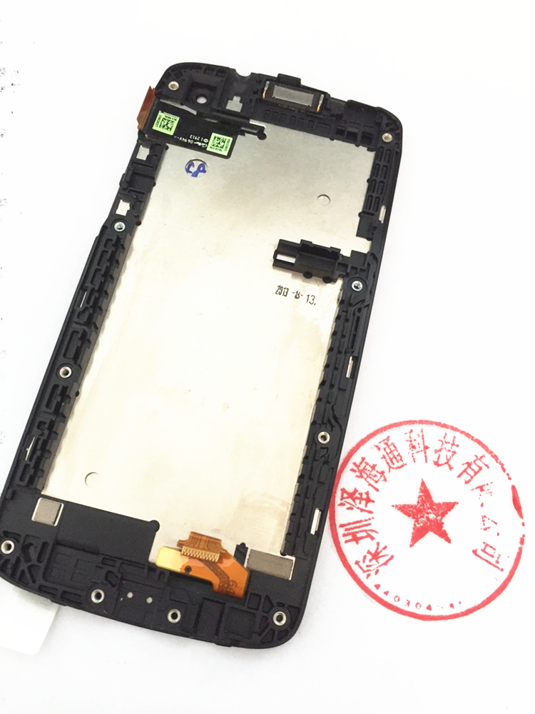 Original Screen With Frame LCD Display  For Htc Desire 500 5088 Free Shipping