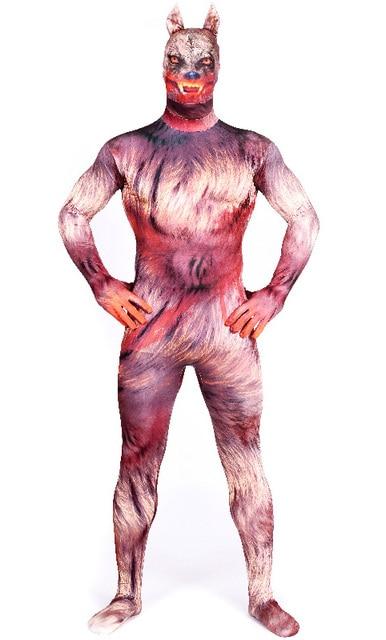 Werewolf Costume Adult Werewolf Cosplay Garou Zentai Suit Male Wolf Halloween Cosplay Costume Superhero Cosplay  sc 1 st  AliExpress.com & Werewolf Costume Adult Werewolf Cosplay Garou Zentai Suit Male Wolf ...