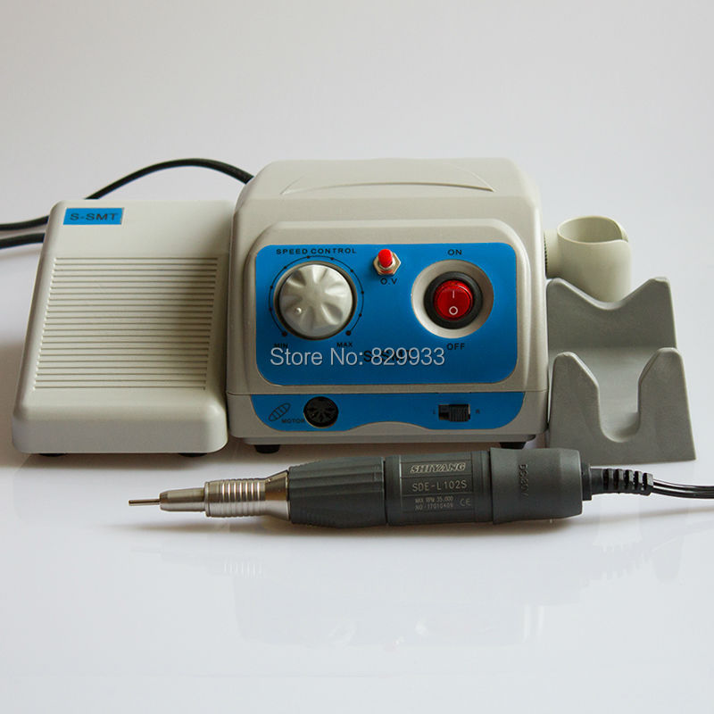 35K Rpm Polishing Machine Electric N9 Micromotor Mini Grinder for DENTAL, JEWELRY, INDUSTRY, HOBBY, NAIL ART, MANICURE, GEMS vibration type pneumatic sanding machine rectangle grinding machine sand vibration machine polishing machine 70x100mm