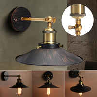 Smuxi E27 Edison Vintage Retro Lamp Base Holder Pendant Bulb Light Screw Socket Sconce Loft Rustic Wall Light Lamp Holder Socket