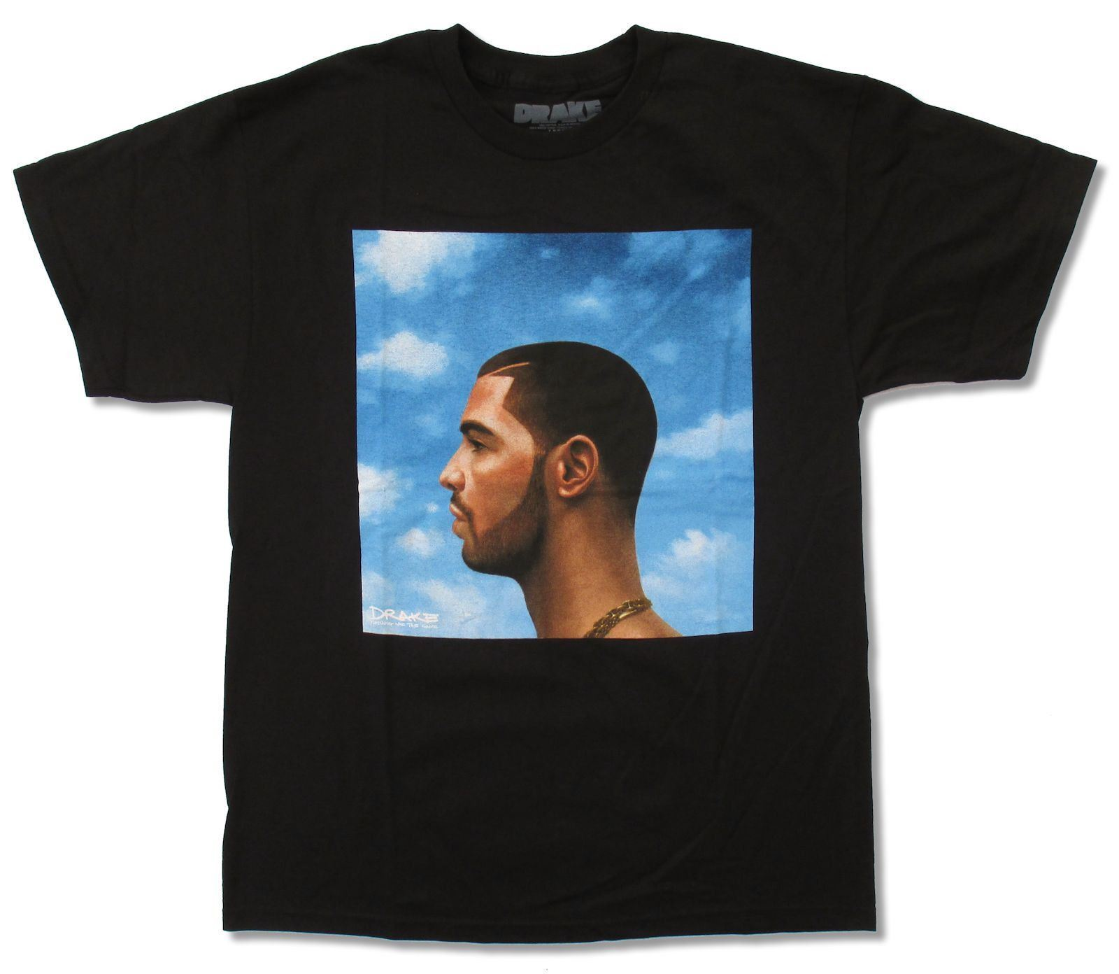 DRAKE OLDER COVER BLACK T-SHIRT NEW OFFICIAL RAP SINGER NOTHING WAS THE SAME Cotton Fashion Men T Shirt