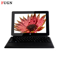 FUGN 10 1 2 In 1 Dual OS Tablet PC Metal Tablet Quad Core Cherry Trail