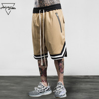 Aelfric Eden Bermuda Loose Mens Shorts Hip Hop Swag Zipper Shorts Hi Quality Male Boardshorts Multi