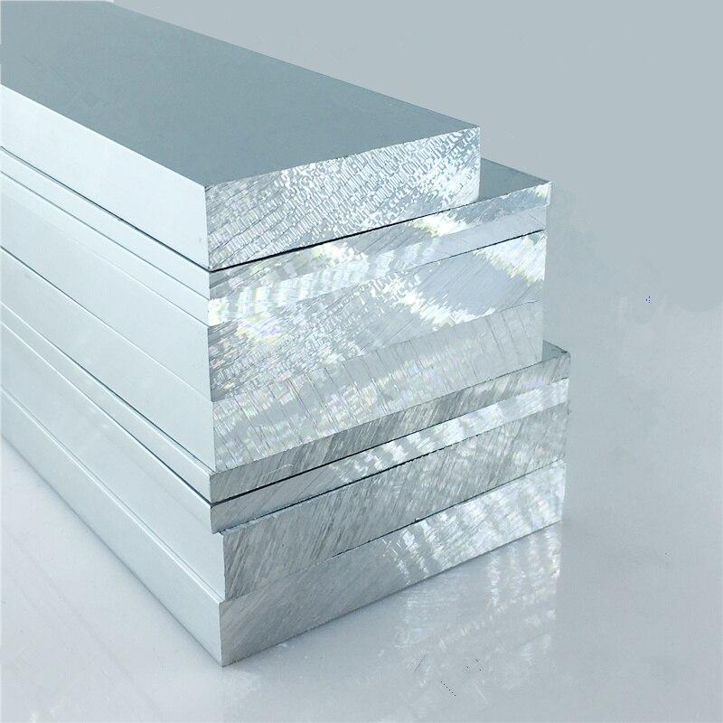 plaque d aluminium 6063 t5 10mm x 20mm longueur 200mm epaisseur par oxydation en alliage d aluminium 10mm largeur 20mm