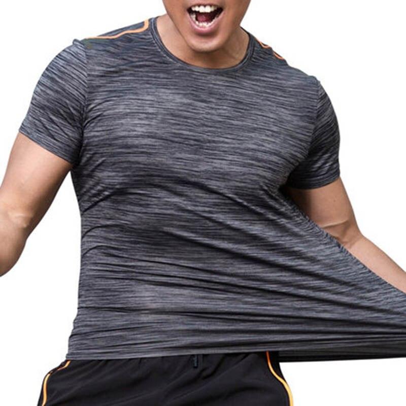 a7e7f7b50c Sportowa koszula mężczyzna kobiet Fitness Running T koszule oddychająca  szybkie suche Tshirt odkryty Unisex siłownia szkolenia Jogging sportowej  tkaniny