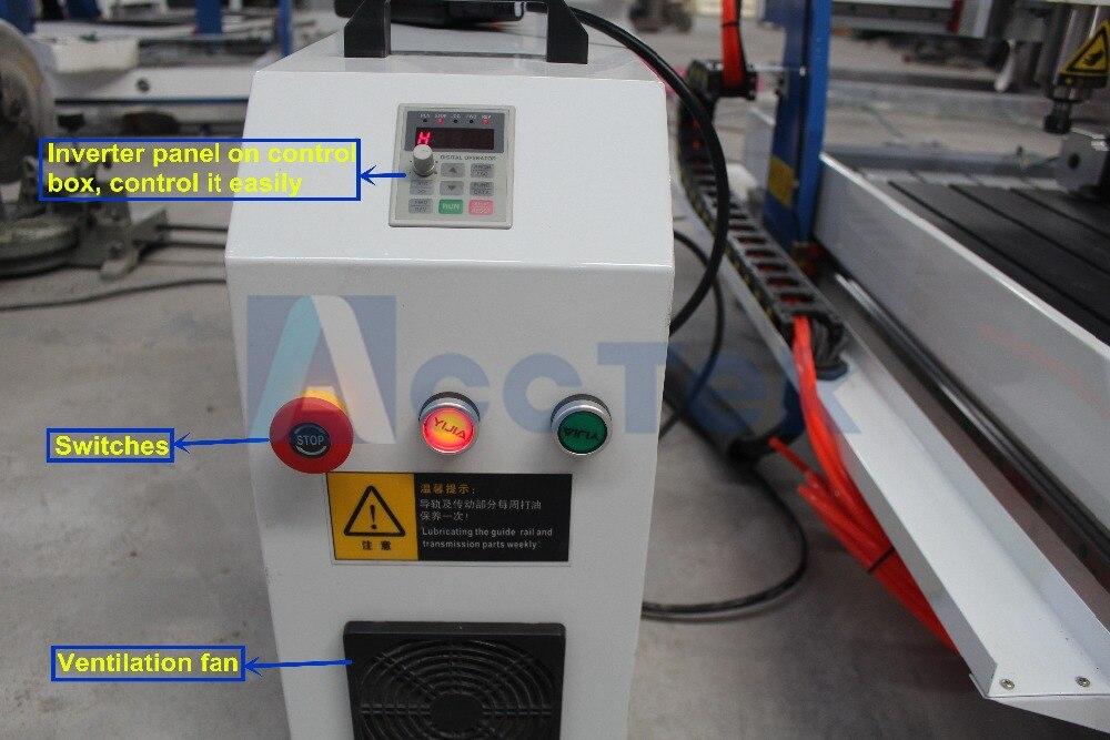 Chine Acctek CNC routeur machine mini 6090 3d scanner laser machine - 2