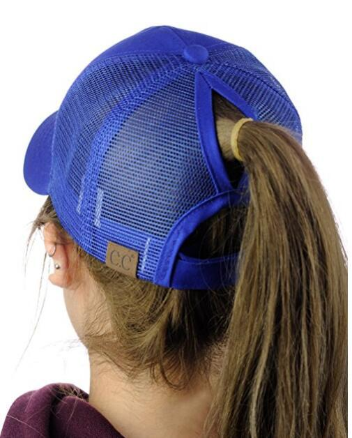 2018 CC Glitter Ponytail Baseball Cap Summer Dad Hats For Women Snapback  Hip Hop Caps Messy Bun Sequins Shine Mesh Trucker Hat 402ec6f25258