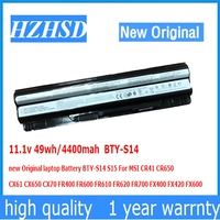 11 1v 49wh 4400mah BTY S14 New Original Laptop Battery BTY S14 S15 For MSI CR41
