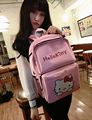 High Quality Travel Backpack Women Pink Hello Kitty Bookbag Cute Large Capacity Shoulder Backpack For Child Gift Sbackpacks