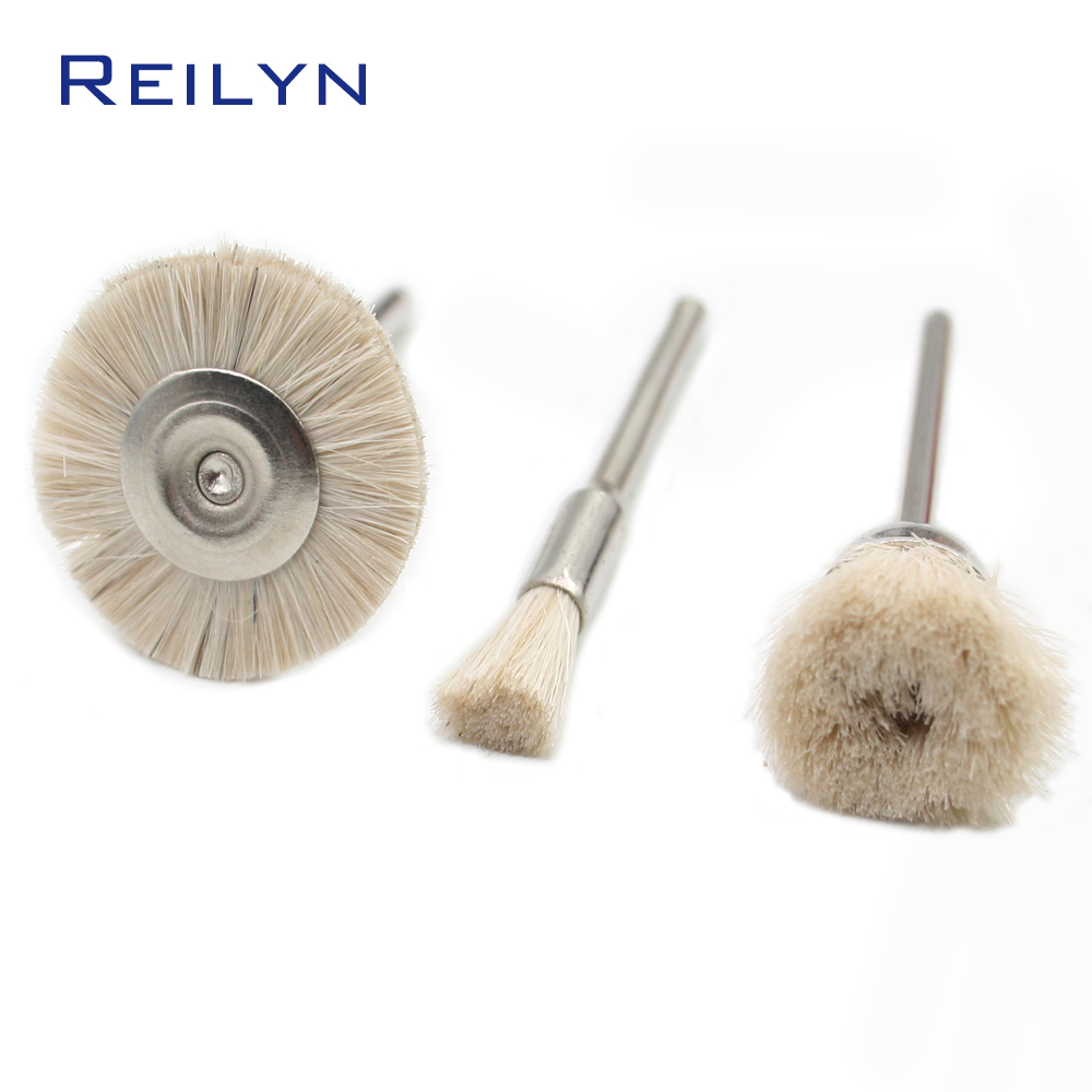 Fake Wool Brush Roller Polishing Wheel  Wool Polisher Soft Brush Polishing Roller For Dremel Rotary Tool