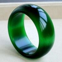 Regalo de las mujeres palabra Amor real Un auténtico hielo puro natural Opal piedra de cristal verde de la gema pulsera Yang espinaca verde transparente