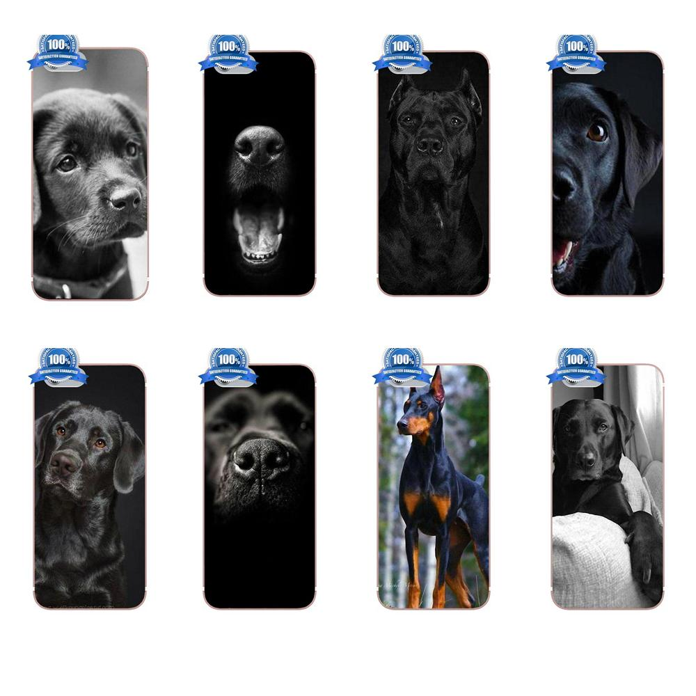 Soft Hot Selling For Samsung Galaxy A3 A5 A7 J1 J3 J5 J7 2016 2017 S5 S6 S7 S8 S9 edge Plus Cute Pet Dog Labrador Retriever