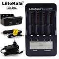 LiitoKala Lii-500 многофункциональное зарядное устройство 18650,18650 зарядное устройство 26650, проверка емкости, выход USB 5 В, большой ЖК-дисплей.