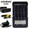 LiitoKala Lii-500 Multifunction Charger 18650,18650 Charger 26650 Charger,Capacity test,USB 5V output,Large LCD display.
