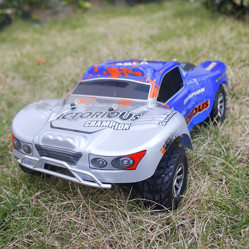 2.4GHz A969-B 1/18 4WD RC Car Short Course Truck 70KM/H RTR High Speed Racing Car Off-Road Vehicle Buggy Climbing Car new 7 2v 16v 320a high voltage esc brushed speed controller rc car truck buggy boat hot selling