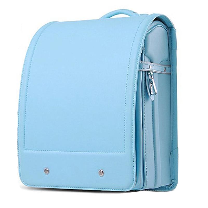 Fashion Child School Bags Boy and Girl Randoseru Backpack Children Japanese Style Student Backpacks Kids Large
